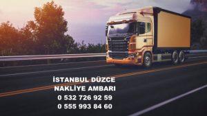 istanbul düzce nakliye ambarı