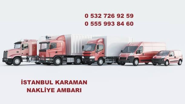 istanbul karaman nakliye ambarı