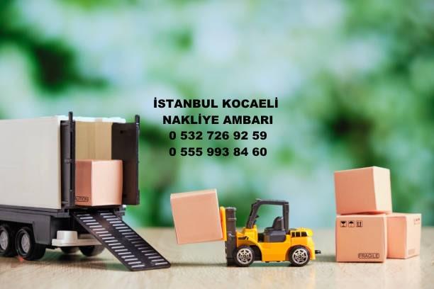 istanbul kocaeli nakliye ambarı