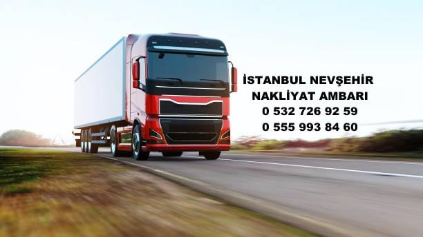 istanbul nevşehir nakliyat ambarı
