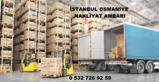 istanbul osmaniye nakliyat ambarı