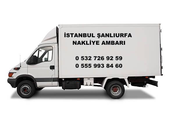 istanbul şanlıurfa nakliye ambarı