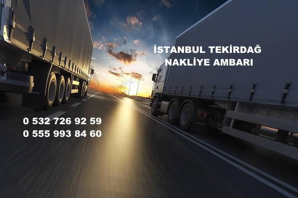 istanbul tekirdağ nakliye ambarı